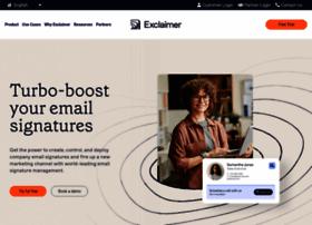 exclaimer.com