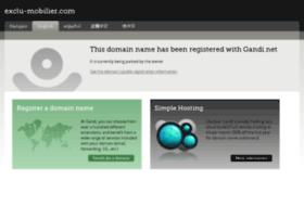 exclu-mobilier.com