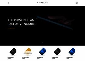 exclusive-numbers.com