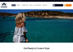 exclusiveboatcharters.com.au