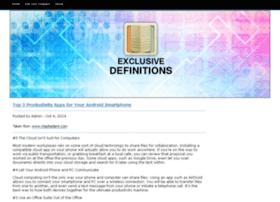 exclusivedefinitions.com