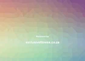 exclusivefitness.co.za