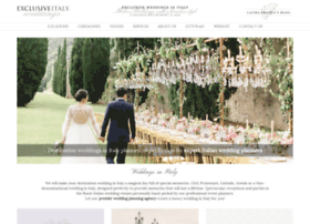 exclusiveitalyweddings.com