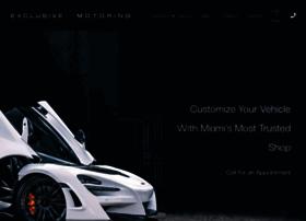 exclusivemotoring.com
