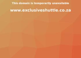 exclusiveshuttle.co.za
