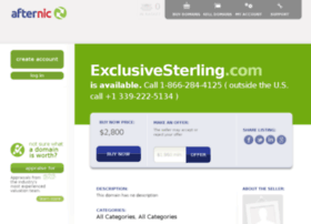 exclusivesterling.com