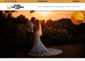 exclusiveyachtweddings.com