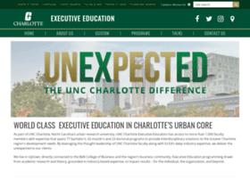 exec-ed.uncc.edu