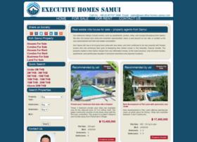 executive-homes-samui.com