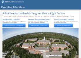 executive.bentley.edu