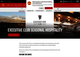 executiveclub.manutd.com