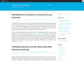 executivecoach.edublogs.org