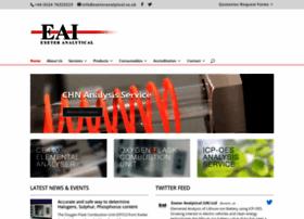 exeteranalytical.co.uk