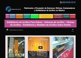 exhibidoresdeacrilicoparadulces.com.mx