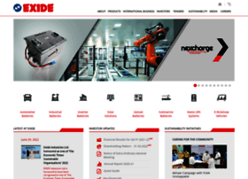 exideindustries.com