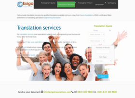 exigotranslations.com