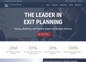 exitplanningforadvisors.com
