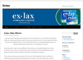 exlax.org