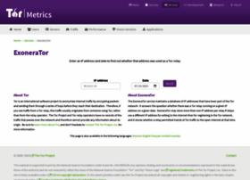 exonerator.torproject.org