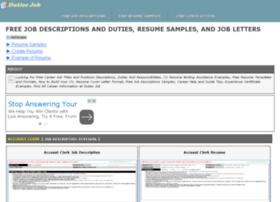 experienceletter.jobdescriptionsandduties.com