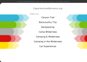 experiencewilderness.org