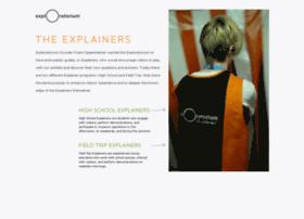 explainers.exploratorium.edu