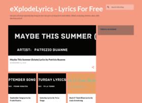 explodelyrics.com
