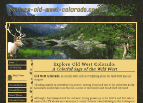explore-old-west-colorado.com