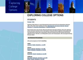 exploringcollegeoptions.org