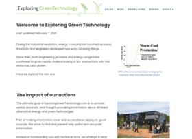 exploringgreentechnology.com
