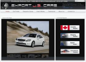 exportuscars.com