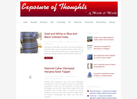 exposureofthoughts.com