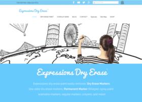 expressionsdryerasepaint.com