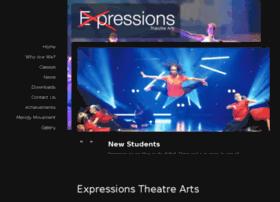 expressionstheatrearts.com