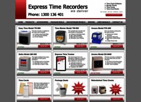 expresstimerecorders.com.au