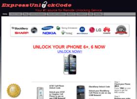 expressunlockcode.com