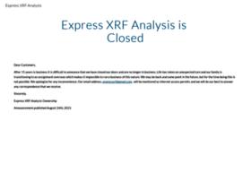 expressxrfanalysis.com