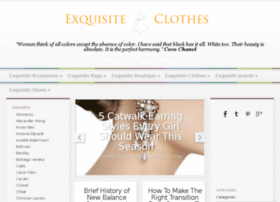 exquisiteclothes.net