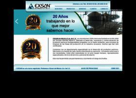 exsan.com.mx