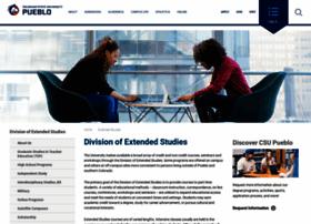 extendedstudies.csupueblo.edu