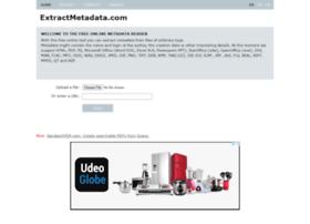 extractmetadata.com