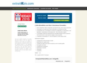 extraitkbis.com