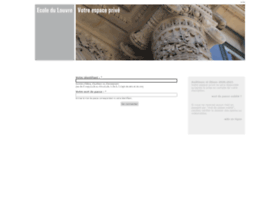 extranet.ecoledulouvre.fr