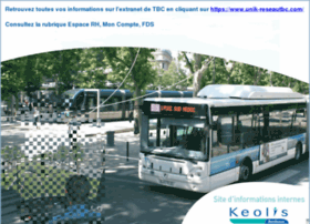 Extranet.keolis-bordeaux.net