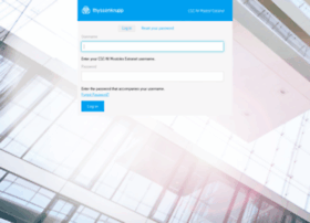 extranet.thyssenkrupp-elevator-manufacturing-spain.com