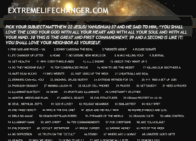 extremelifechanger.com