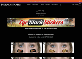 eyeblackstickers.com