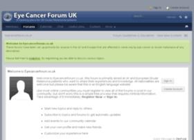 eyecancerforum.co.uk