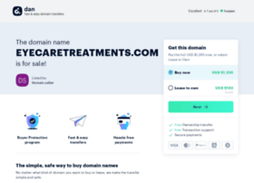 eyecaretreatments.com