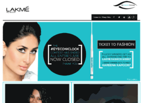 eyeconic.lakmeindia.com